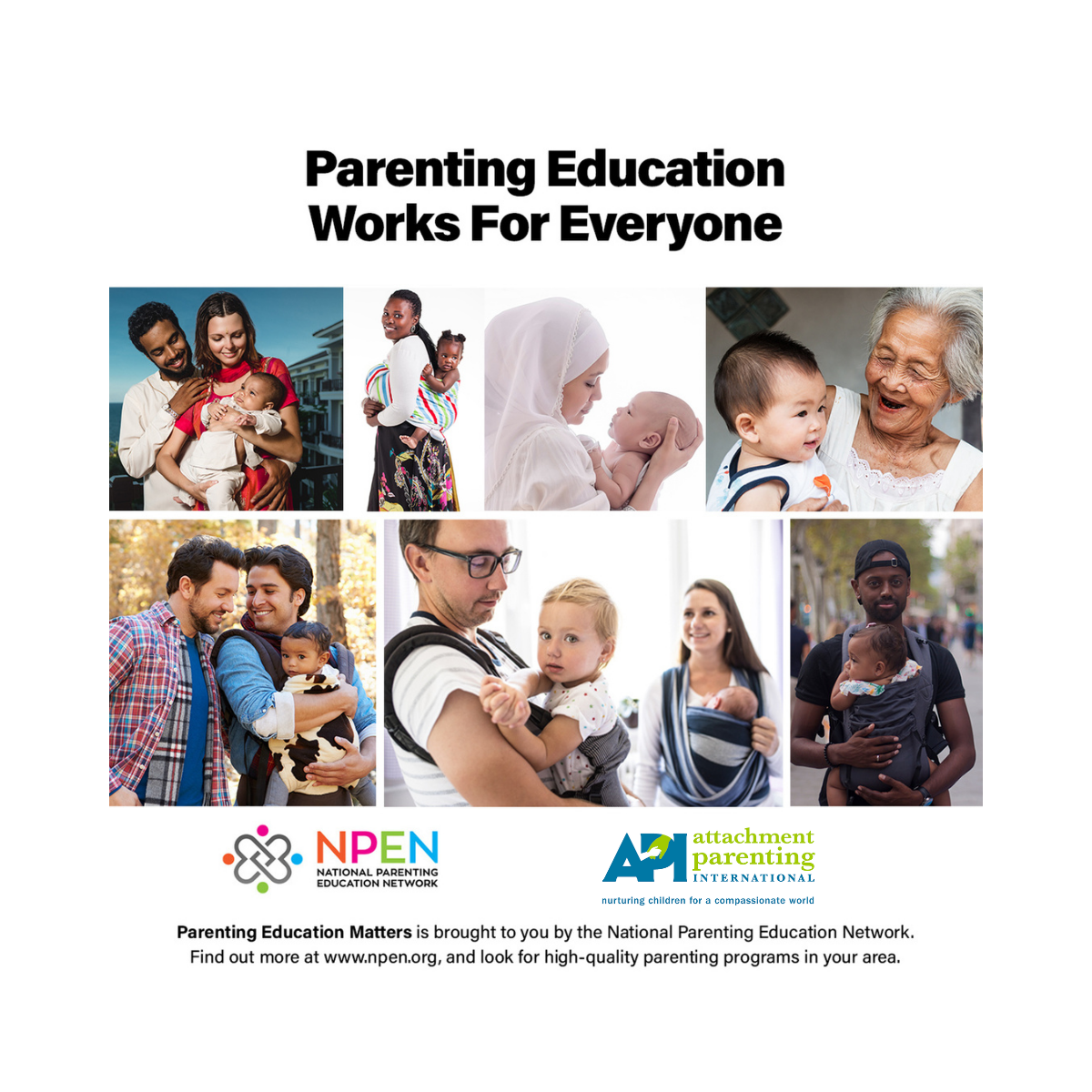 Parenting Education Works for Everyone
